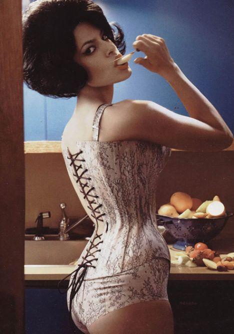 Eva Mendes Vogue'a soyundu - 46